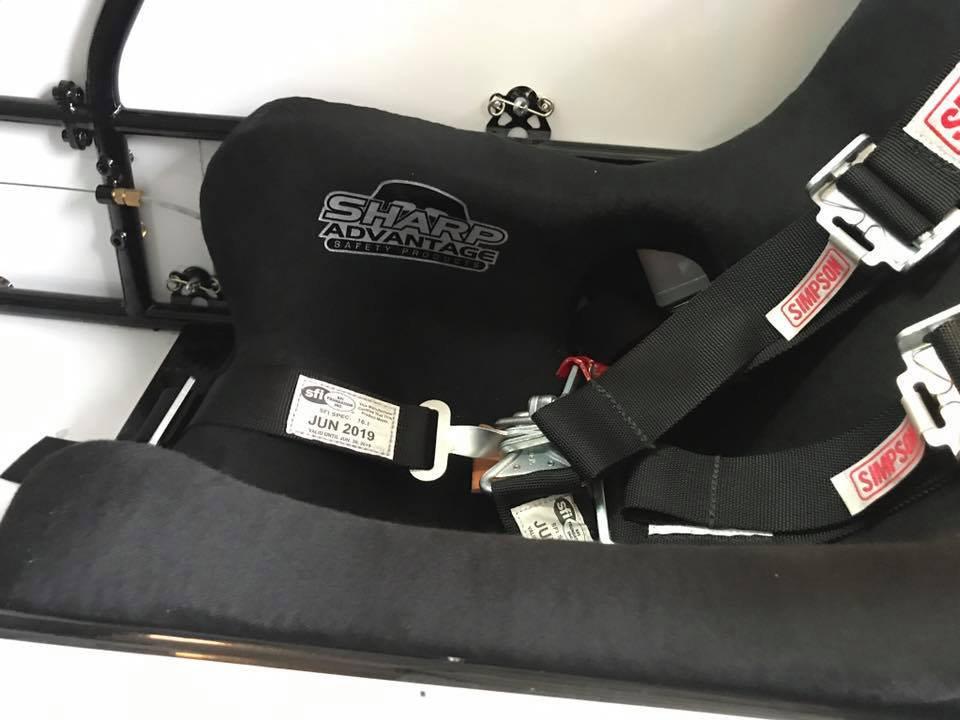 QUARTER MIDGET SEAT INSERT