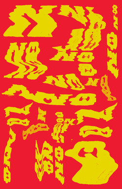 nO typographic poster