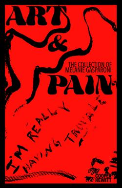 Art & Pain Exhibition Poster