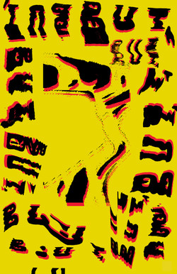 BUT typographic poster