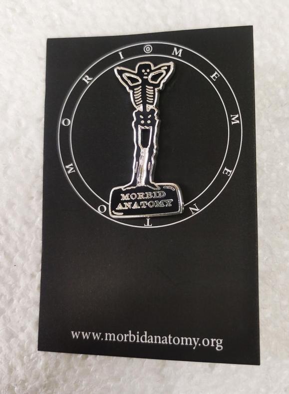 Morbid Anatomy Enamel Pin