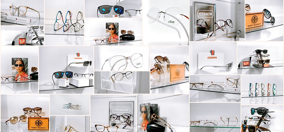 Westerville Eyecare frame gallery background