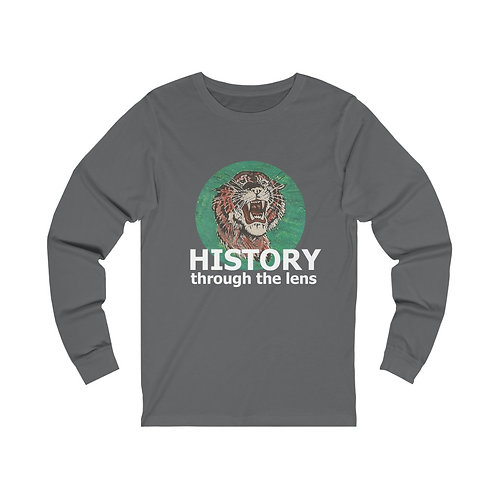 History Through The Lens Unisex Jersey Long Sleeve Tee