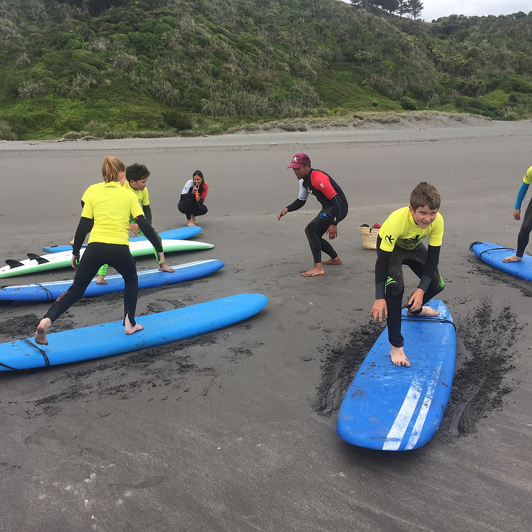Surfing with Daniel Kereopa