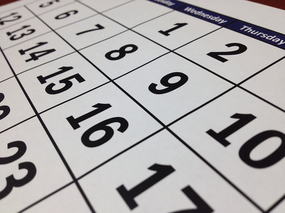 Breaking the training calendar down into periods.