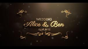 Ornate Wedding Intro