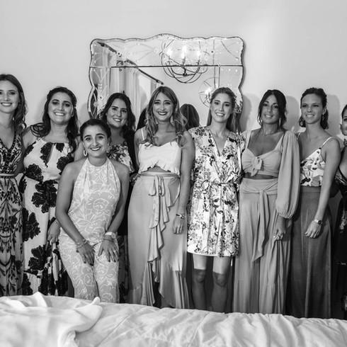 previas, amigas de la novia