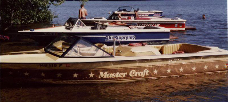 Tournament boats from the 80's (no these will not qualify)