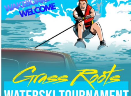 Grass Roots Waterski Tournament, hosted by the Austin Ski Club