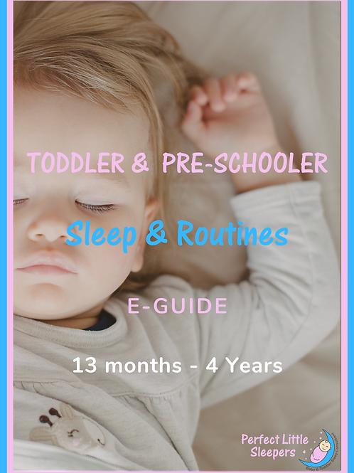 Toddler & Pre-Schooler Sleep & Routines E-Guide