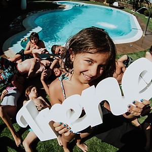 Happy Birthday Pool Party Irene.
