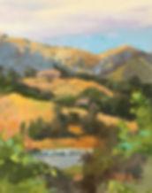 Golden Hills Commute, 10x8.jpg