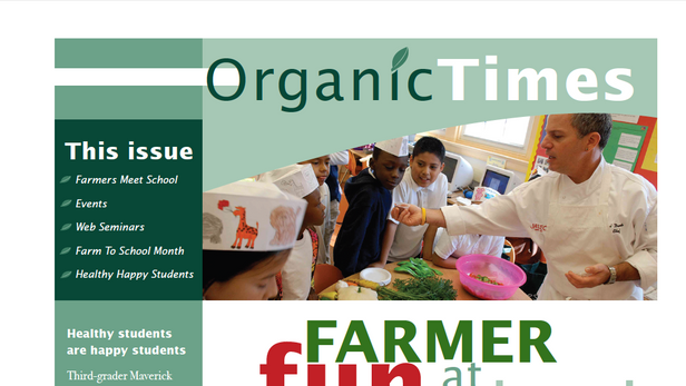 Organic Times Newsletter