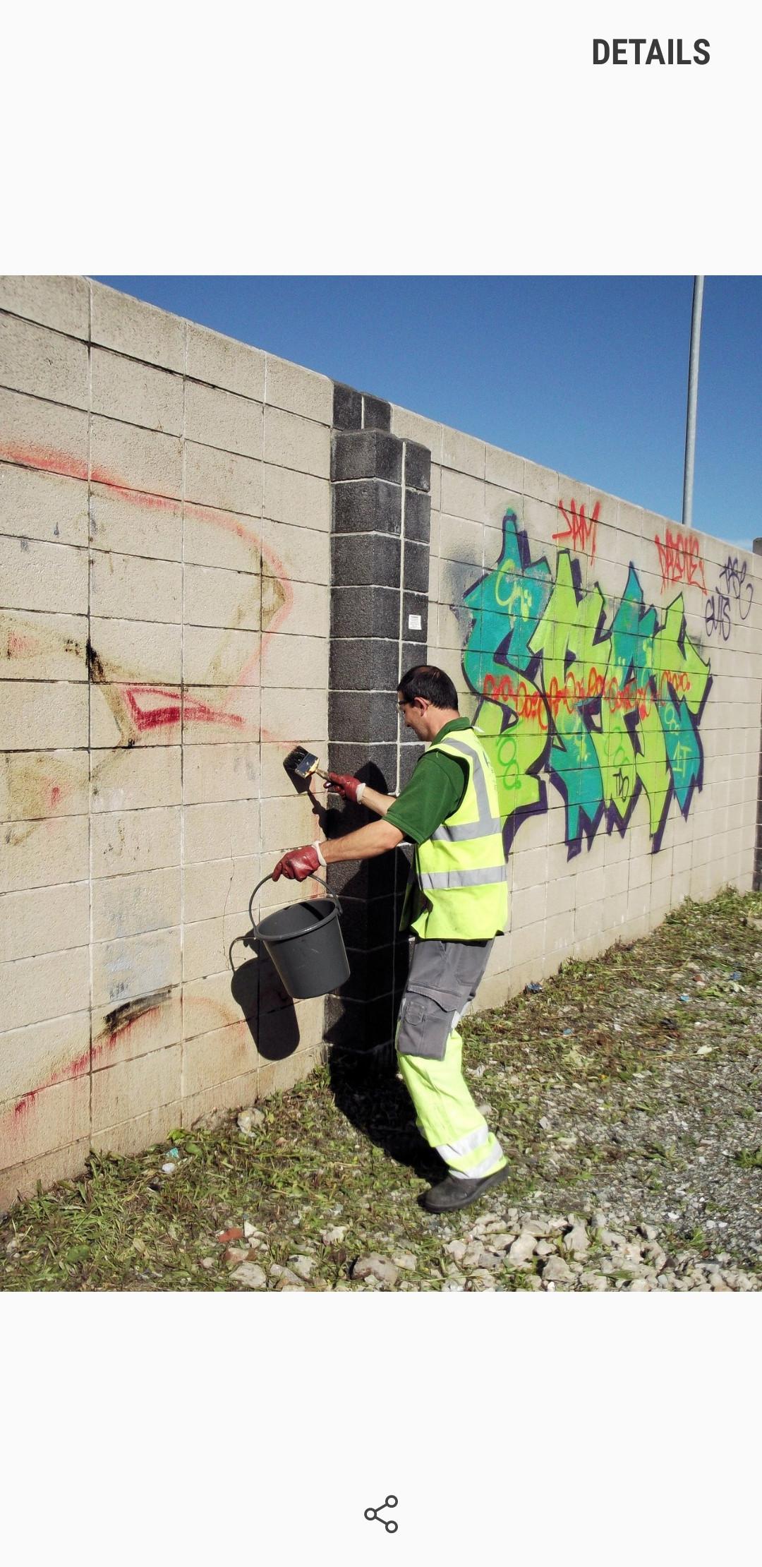 Graffiti Removal Service        9