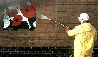 Professional-Graffiti-Removal--rubbish bin, trash, remove trash, protective service