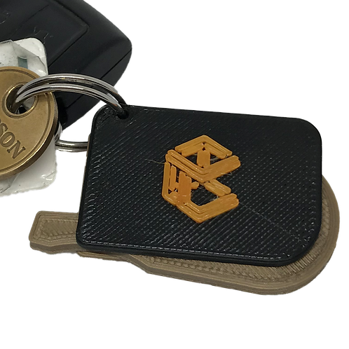 Techcraft COVID Keyring