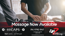 Massage now open