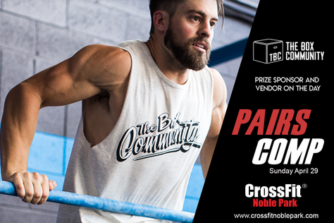 New Sponsor for CrossFit Pairs comp