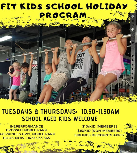 FIT KIDS CLASSES