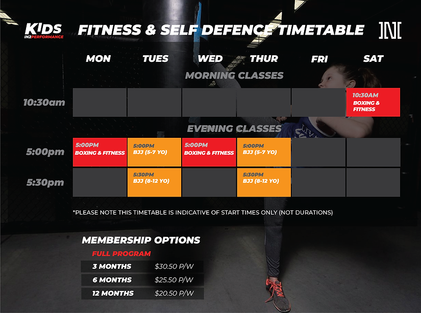 NEW KIDS TIMETABLE 25 FEB_kids timetable