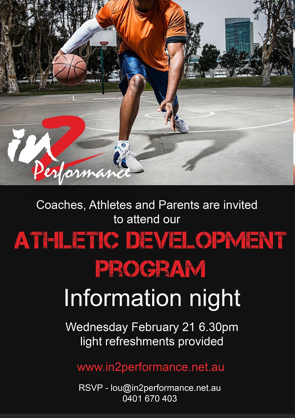 Athletic Development Program