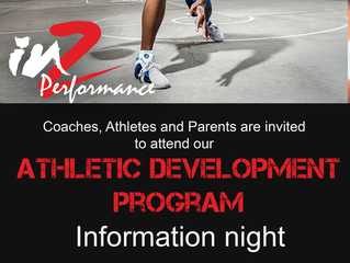 Athletic Development info night