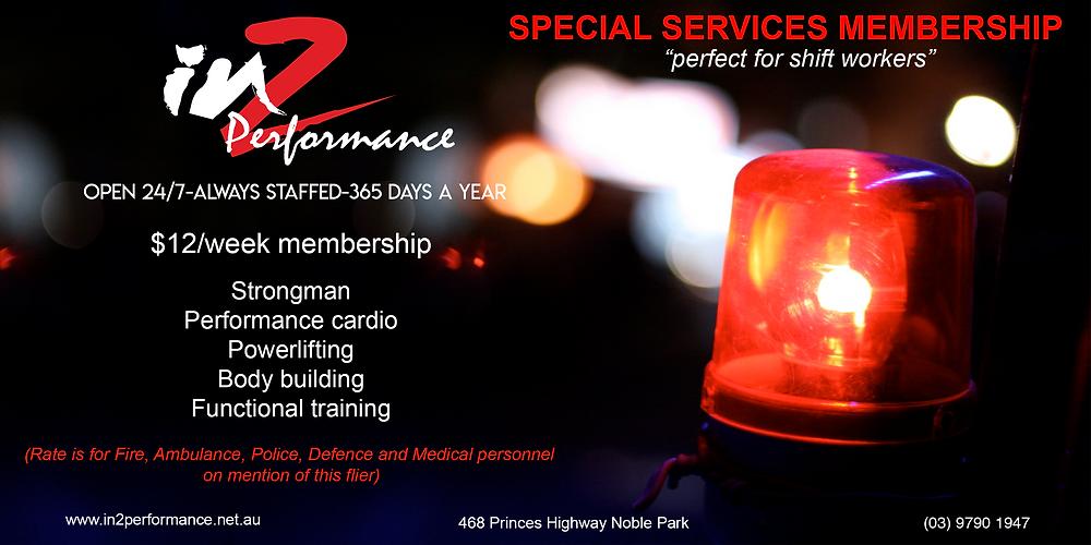 Special Membership