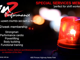 Special Services Membership Special