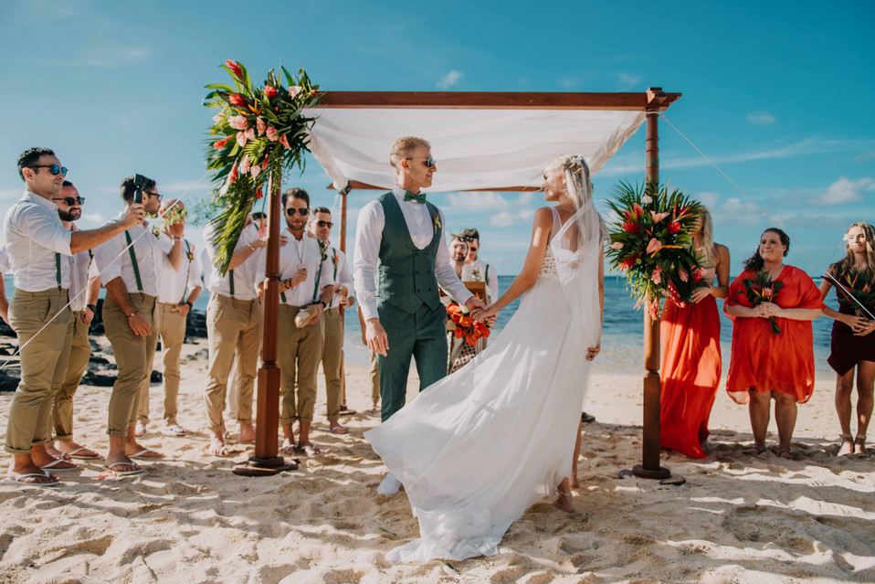 Simone and Gareth - Wedding in Mauritius