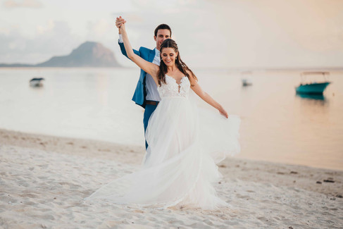 Nadia and Rémy - Wedding in Mauritius