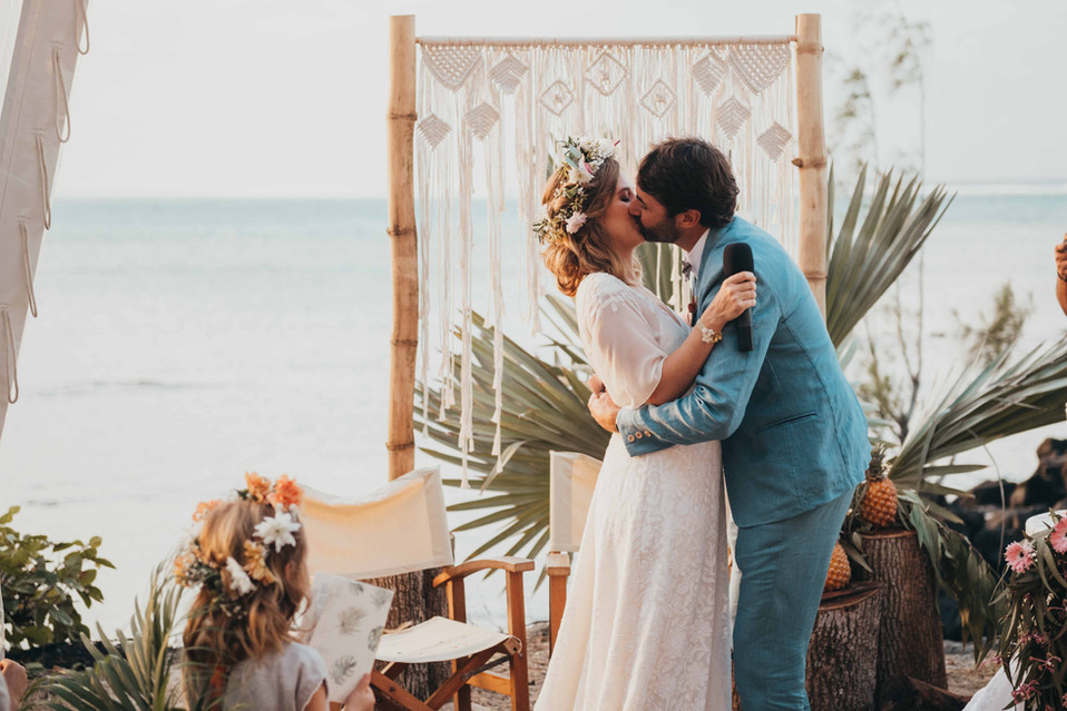 Anne-Sophie and Tristan - Wedding in Mauritius
