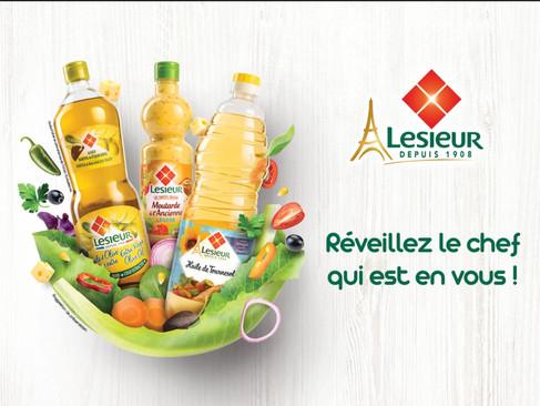 Lesieur Campaign - Advertising Publications
