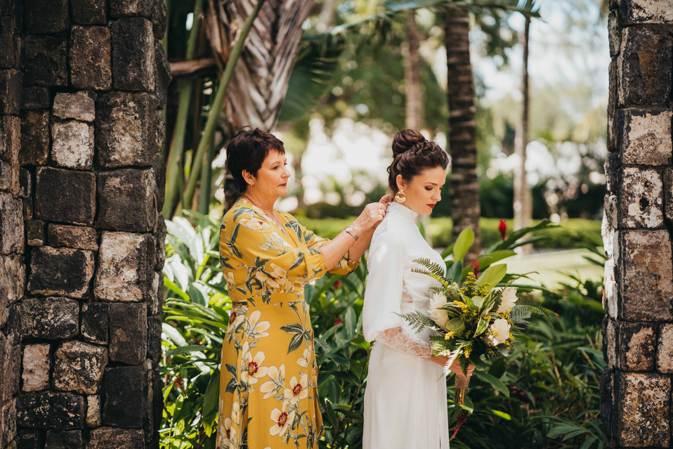 Melanie and Olivier - Wedding in Mauritius