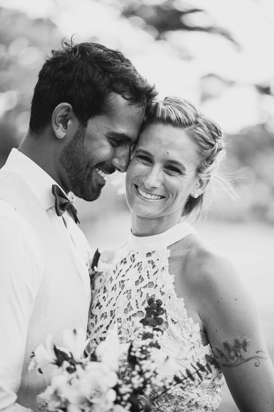 Alicia and Fabrice - Wedding in Mauritius