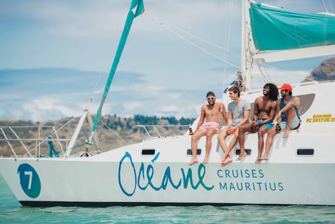 Oceane Cruises Mauritius - Corporate Photography