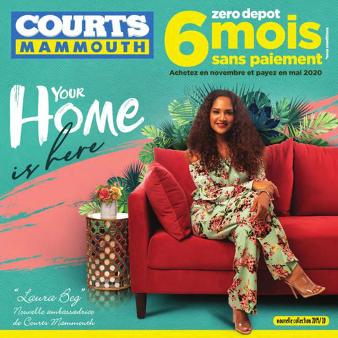 Courts Mammouth Campaign - Advertising Publications