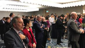 比利时卢森堡中资企业协会 首次举办新年招待会