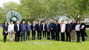 中比科技园 |全国工商联副主席谢经荣率团访问CBTC