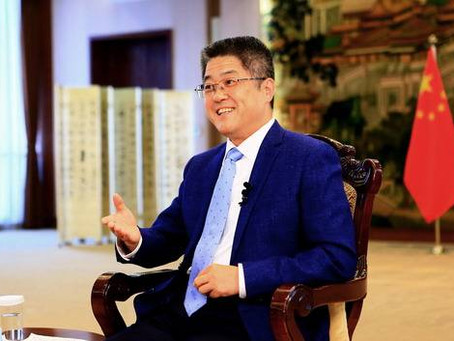 中国外交部副部长乐玉成接受美联社专访(节选)