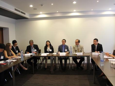 """比利时卢森堡中资企业协会举办 """"欧盟一般数据保护条例""""专题讲座"""
