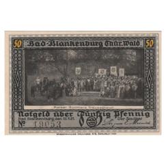 Bad Blankenburg, 50 Pfennig, 1922