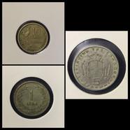 1940-1950s Coin Chronology of Vafiadis Family - a