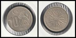 10 Bin Lira 1994 Olympics