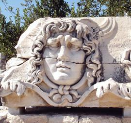 Didim-Apollon Tapınağı Medusa Başı