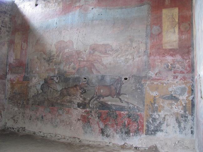 -Pompeii,Zengin Evi,Duvar-