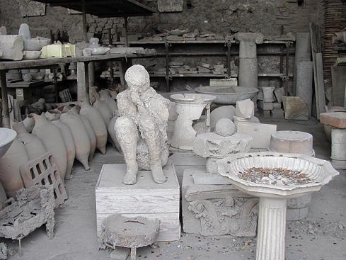 -Pompeii ,Ağlayan Çocuk-