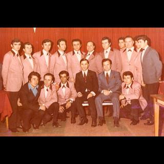 1970s The Days in Canlı Balık Restaurant / Dimitrios with Restaurant Crew