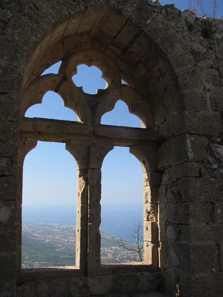 St.Hillarion 2mi3 Royal Apartments Windows Cyprus