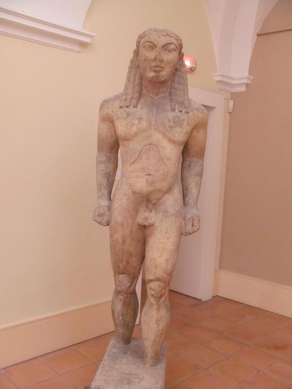 Kouros Musee Matisse, Cimiez -2mi3-