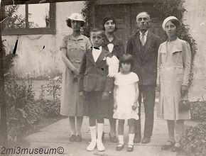 Sanzoni Family, 1930s, Edirne, Italians, Greeks, Vintage Life